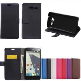Mobilplånbok ZTE Blade L3 mobil fodral skydd skal caseonline