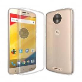 Motorola Moto C Silikon skal Transparent