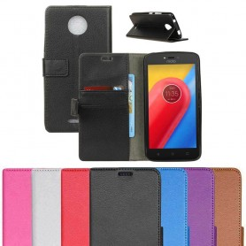 Mobilplånbok Motorola Moto C skal skydd CaseOnline.se