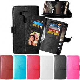 Dubbelflip Flexi Asus Zenfone 3 Deluxe Z016550KL mobil skal fodral