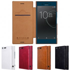 Nillkin Qin FlipCover Sony Xperia XZ Premium mobil skal fodral caseonline