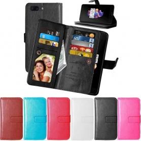 Dubbelflip Flexi OnePlus 5 mobil skal fodral CaseOnline