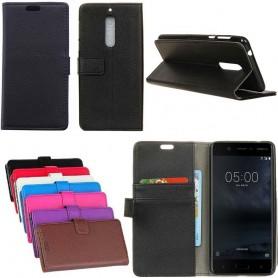 Mobilplånbok 2-kort Nokia 5