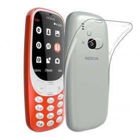Nokia 3310 (2017) Silikon skal Transparent mobil skydd CaseOnline.se