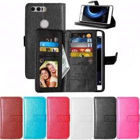 DoubleFlip Wallet Case 9-card Huawei Honor 8 (FRD-L09)