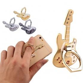 Gitarr bling Mobilhållare, Fingerring, Selfiering