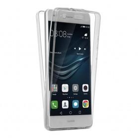 360 heltäckande silikon skal Huawei P10 Lite WAS-LX1 mobil skydd