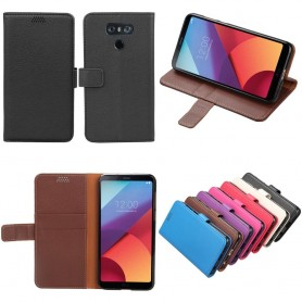 Mobilplånbok 2-kort LG G5 H850 sedel ställ puläder