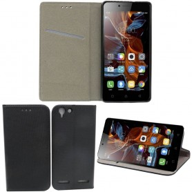 Moozy Smart Magnet FlipCase Lenovo K5 mobilskal tillbehör