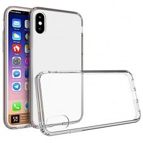 Clear Hard Case Apple iPhone X skal transparent mobil skydd caseonline