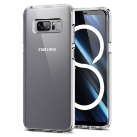 Clear Hard Case Samsung Galaxy Note 8 SM-N950F skal transparent caseonline mobil
