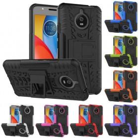 Stöttåligt skal med ställ Motorola Moto E4 Plus mobilskal skydd