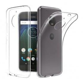 Motorola Moto E4 Silikon skal Transparent mobilskal skydd