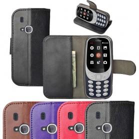 Mobilplånbok med kortfack Nokia 3310 (2017) silikon ram mobilskal