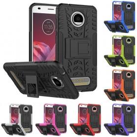 Stöttåligt skal med ställ Motorola Moto Z2 Play XT1710 (2nd Generation) CaseOnline mobilskal
