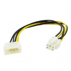 Strömadapter 1x Molex-hane till 6pin PCIe-hane