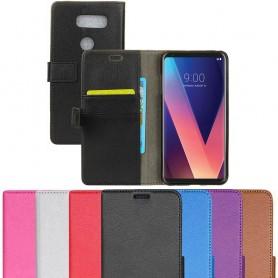 Mobilplånbok 2-kort LG V30 H932 fodral skydd mobilskal