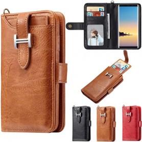 Multiplånbok 3i1 11-kort Samsung Galaxy Note 8 SM-N950F mobilplånbok fodral mobilskal