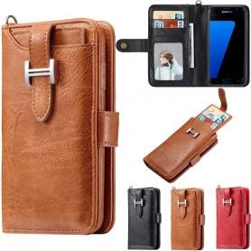 Multiplånbok 3i1 9-kort Samsung Galaxy S7 SM-G930F mobilskal fodral