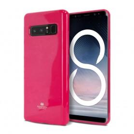 Mercury Jelly Case Samsung Galaxy Note 8 rosa silikonskal SM-M950F