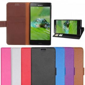 Mobilplånbok 2-kort Sony Xperia XZ1 Compact mobilskal fodral skydd
