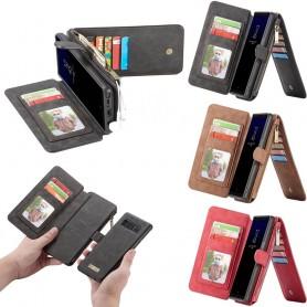 Multiplånbok 14 kort Samsung Galaxy Note 8 SM-N950F mobilskal fodral  myntfack