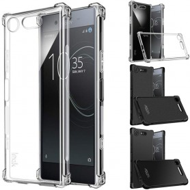 IMAK shockproof silikon skal Sony Xperia XZ1 (G8341) mobilskal skydd