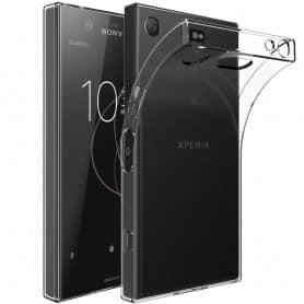 Sony Xperia XZ1  Silikon skal Transparent mobilskal skydd