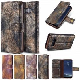 Mobilplånbok Forest Vintage Samsung Galaxy S8 mobilskal fodral