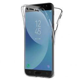 360 heltäckande silikon skal Galaxy J7 2017 SM-J730F mobilskal skydd