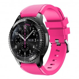 Silikon Sport Armband Samsung Gear S3 Frontier - S3 Classic (Rosa)