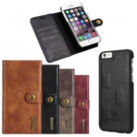 Mobilplånbok Magnetisk DG-Ming Apple iPhone 6 / 6S mobilskal fodral
