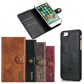 Mobilplånbok Magnetisk DG-Ming Apple iPhone 7 / 8 mobilskal fodral