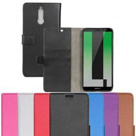 Mobilplånbok 2-kort Huawei Mate 10 Lite