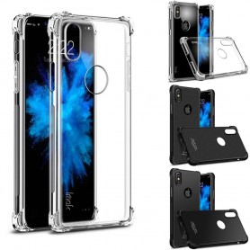 IMAK shockproof silikon skal Apple iPhone X mobilskal fodral