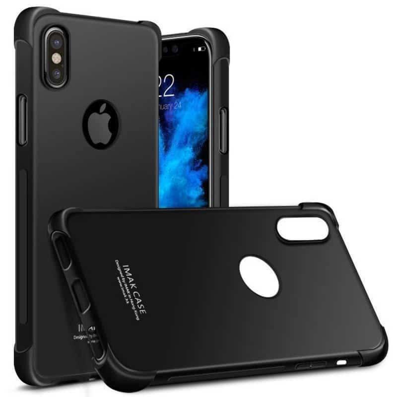 Köp IMAK Shockproof silikon skal Apple iPhone X   Xs Caseonline.se 99bed8a73f95d