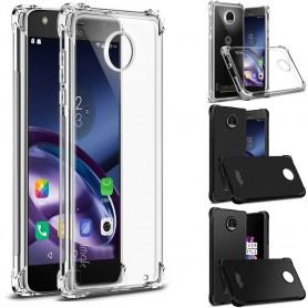 IMAK shockproof silikon skal Motorola Moto Z2 Play mobilskal fodral