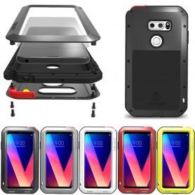 LOVE MEI Powerful LG V30 H932 stålskal mobilskal