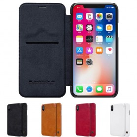 Nillkin Qin FlipCover Apple iPhone X mobilskal fodral