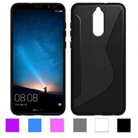 S Line silikon skal Huawei Mate 10 Lite mobilskal skydd