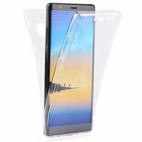 360 heltäckande silikon skal Samsung Galaxy Note 8 2 lagers mobilskal