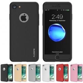 FLOVEME 360 skal med glas Apple iPhone 7 / 8 mobilskal
