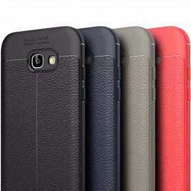 Läder mönstrat TPU skal Samsung Galaxy A7 2017 mobilskal