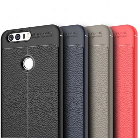 Läder mönstrat TPU skal Huawei Honor 8 mobilskal caseonline