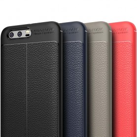 Läder mönstrat TPU skal Huawei Honor 9 mobilskal caseonline