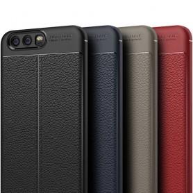 Läder mönstrat TPU skal Huawei P10 VTR-L29 mobilskal caseonline