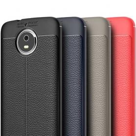 Läder mönstrat TPU skal Motorola Moto G5s mobilskal skydd