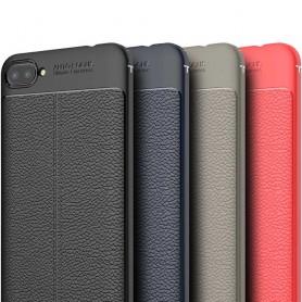 Läder mönstrat TPU skal Asus Zenfone 4 MAX ZC554KL silikon mobilskal