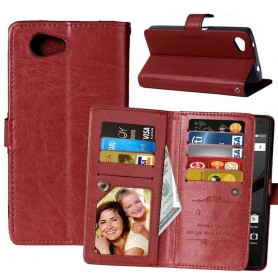 DoubleFlip Wallet Case 9-card Sony Xperia Z3 Compact (D5803)