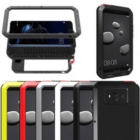 LOVE MEI Powerful Huawei Mate 10 stålskal mobilskal caseonline